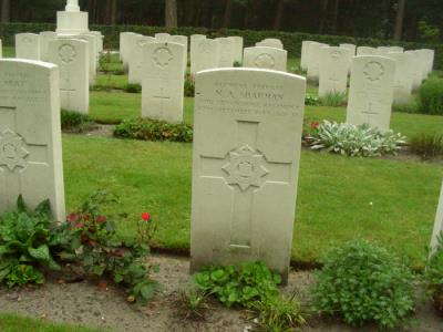 Norman Albert Sharman, Pte 2nd Bn Devonshire Regiment