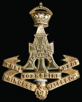 Sion  Hollinshead, Private 13278 5th Battalion Yorkshire Regiment