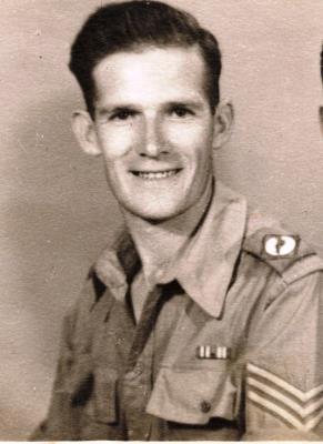 James Harry Chambers, Sgt, Gunner, Royal Artillery, 100 Heavy Anti Aircraft Regiment, 305 Battery