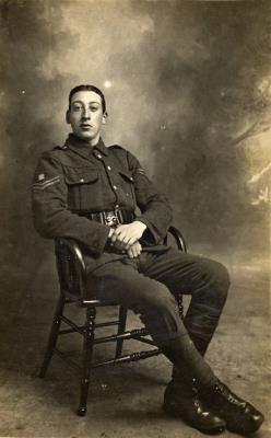John Claude  Raine, 18950, 5th Bn., Wiltshire Regiment