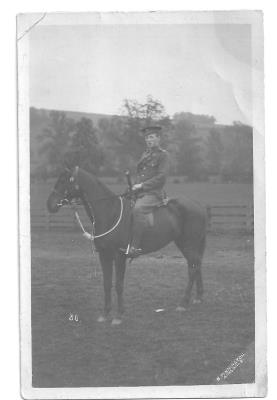 Harold William Davies, Mounted Military Police - Lance Corporal - Service no. P/2934