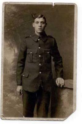 Arthur Newton, Private 15970 10th Bn, York and Lancaster Regiment