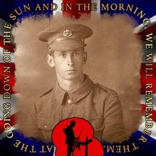 """George Jenner Andrew, Private """"D""""Co. 1st/4th Bn. Essex Regiment"""