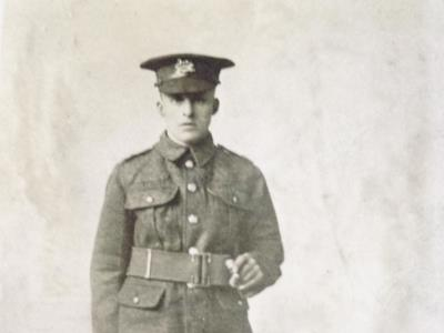 Harry Bentley, York and Lancaster Regiment 18th(Service)Battalion. Private. No 62366