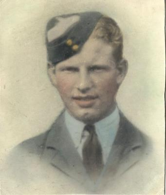 haigh chatterton, 1576209. Sergeant (Air.Gnr) Royal Airforce, Volunteer Reserve. 49 Sqn. Fiskerton.