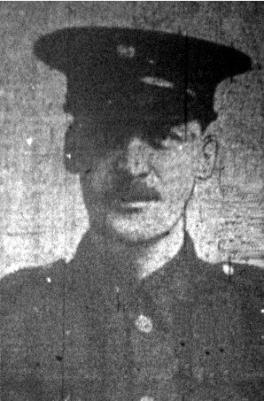 Joseph Megson, Lance Corporal. Prince of Wales's Own (West Yorkshire) Regiment. Service number 42006