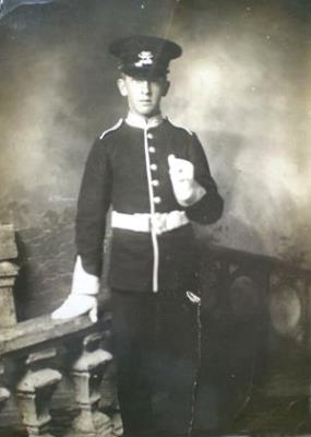 William John Cockerell, Corporal The Buffs