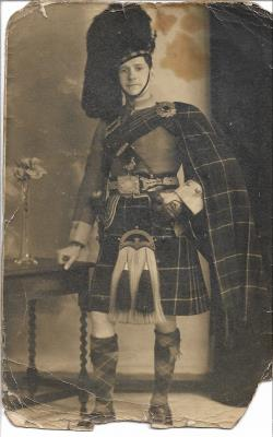 John William Brook, THE ROYAL SCOTS (LOTHIAN REGIMENT) Private 271733