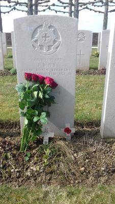 John Boys, Private 241322 Royal Sussex Regiment