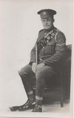 Allen James Snowden, L/Cpl 43652 2nd Battalion Suffolk Regiment