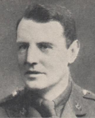 Hugo Delves Broughton, Captain, Cheshire Regiment, 8th Battalion. DOD - 04/04/1916