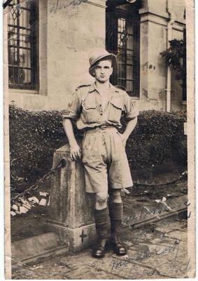 Andrew  Macfie , WW11 Royal Engineer  From Glasgow Scotland