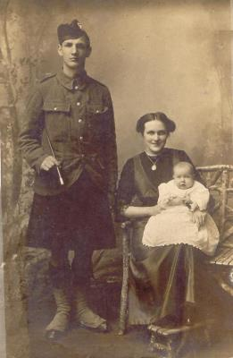 Samuel Clements, Army, Cameron Highlanders