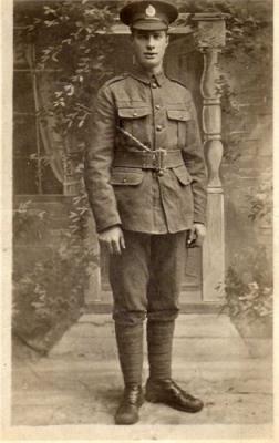 George Algar, Royal Engineers, Reg Number: 85416