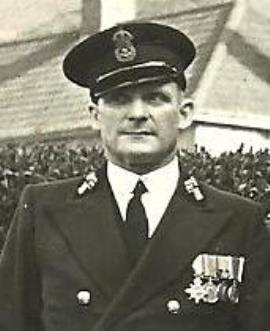 James William Pelly Ridgers, Yeoman of Signals RN