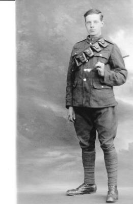 Stanley Daykin, Private - Hussars, 1st and 7th East Yorks