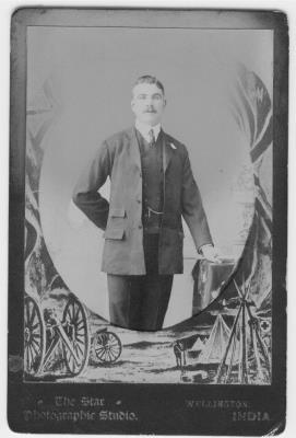 Edward Thomas Harding, 1st Battalion Ox & Bucks Light Infantry/ Private