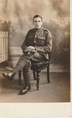 Edward J Davies, 4th Royal Welsh Fusiliers: No. 200688