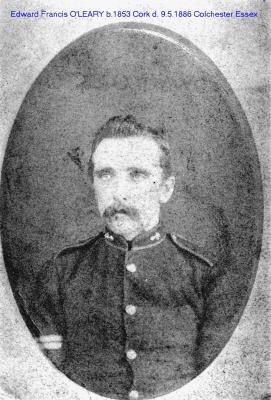 Edward Francis  O'LEARY, Corporal Royal Artillery