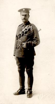 Arthur Daw, Private Northumberland Fusiliers