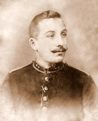 Robert (Robbie) Sutton, Captain, Royal Dublin Fusiliers, DSO
