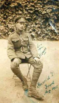 Harold Douglas Ford, Lance Corporal L/10893 6th Battalion Queens West Surrey