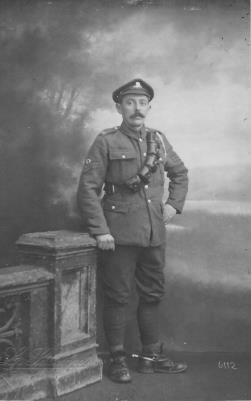 frederick Mason , Royal Field Artillery September 1916 - February 1919