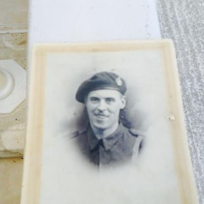 Harry Hughes, Trooper 14236054 13th&18th Royal Hussars