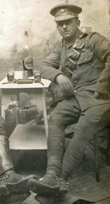 Harry Owens, Serjeant T2/9501 - 107 Coy. Army Service Corps attchd 29 Field Ambulance RAMC
