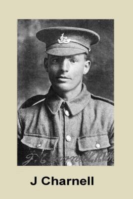Joseph  Charnell, Lance Corporal 11th Btn, Royal Warwickshire Regiment