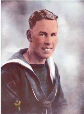 Frederick Tupper, Leading Stoker HMS Fiji