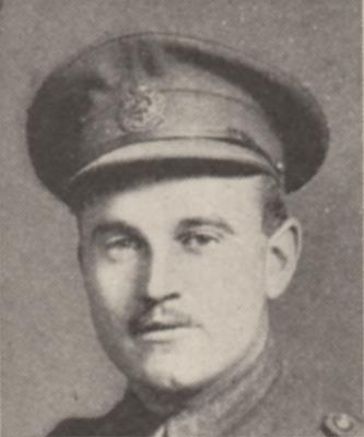F. M. Hutchinson, Captain, Canadian engineers, 11th Field Company. KIA: 01/03/1917