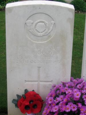 Boaz Moody, Private, 9th Battalion K.O.Y.L.I.