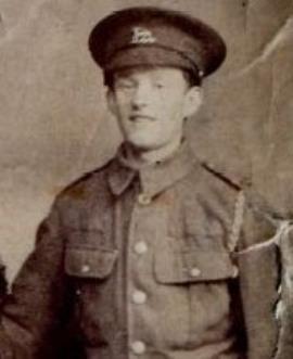 John Hollis, Private G/42315, 21st Bn., Middlesex Regiment