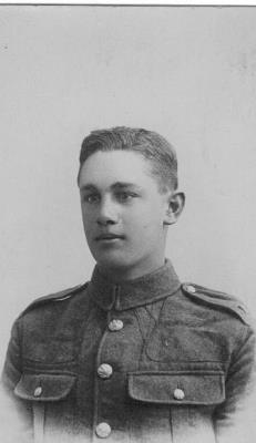 Cecil Charles Netting, 9th Btn Devon Regiment. Gunner Private
