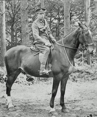 "Clement G Hawes, 235042. Gunner ""C"" Bty. 76th Bde. Royal Field Artillery"