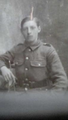 Henry  Nicholson, Corporal,  Alexandra Princess of Wales own Yorkshire Regt , 5th Batt.