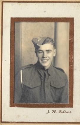 Stephen  Donoghue, 14515864 Gunner Donoghue, 141 Field Reg't, Royal Artillery