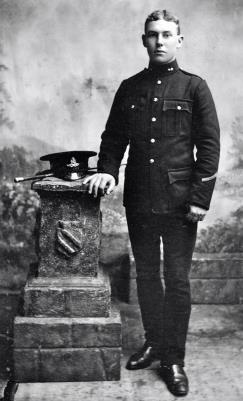 George Sunley, Gunner 57742, 118th Battery, 26th Brigade, Royal Field Artillery