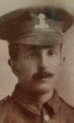 George Major Priestly, 13420,6th Bn.,Royal Dublin Fusiliers /Pvt