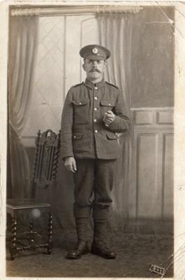 Charles Weller, Sapper Royal Engineers no. 177071