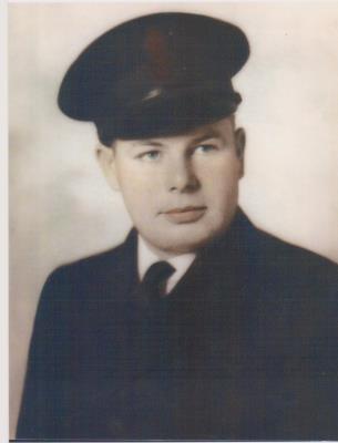 George Walter Charles Borthwick, CPO V27681 RCNVR 1941-1945 Chief Ordnance Artificer