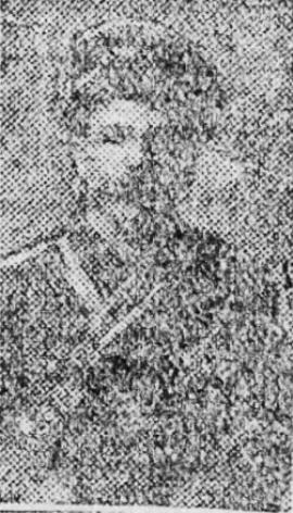 David Thomas Jenkins, Gunner. 51st Bty.  39th Bde . Royal Field Artillery.