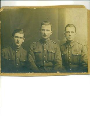 Joseph, Isaac and Henry Rosenberg, Joseph was a Lance Sergeant, Isaac a Sergeant, Henry a rifleman in the British Army