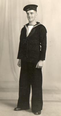 Ernest King Whitworth, Royal Navy WW2 (1943-1946)