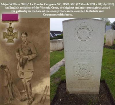 "William ""Billy""   La Touche Congreve VC, Major"