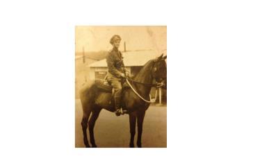 Hugh Fraser, Gunner in the Royal Artillery