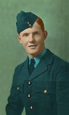 Eugene Michael Mulligan, Flight Sgt No 581112.R.A.F. Bomber Command 40 Squadron, Alconbury.