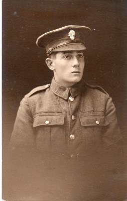 Cecil Yaxley, Private. 2nd Battalion Oxford and Bucks Light Infantry