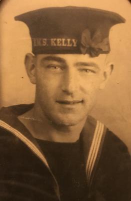 RDF Coppard , Leading Seaman, Royal Navy